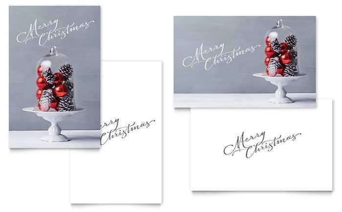 16 Creative Christmas Card Templates On Word Formating with Christmas Card Templates On Word