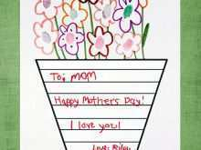 Handmade Mother'S Day Card Templates