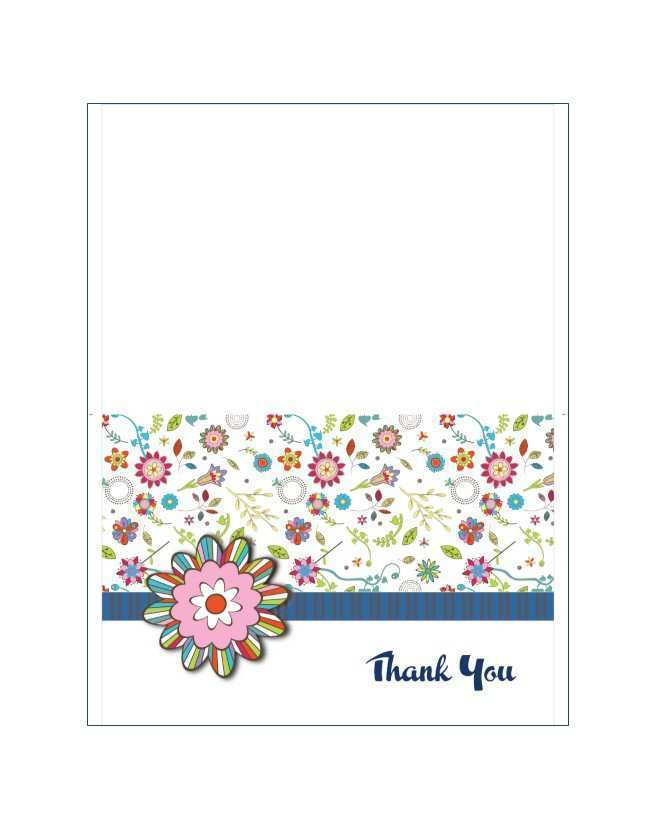 16 Creative Thank You Card Template Images PSD File for Thank You Card Template Images