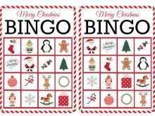 16 Customize Christmas Bingo Card Template in Word for Christmas Bingo Card Template