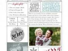 16 Customize Christmas Card Newsletter Template Maker for Christmas Card Newsletter Template
