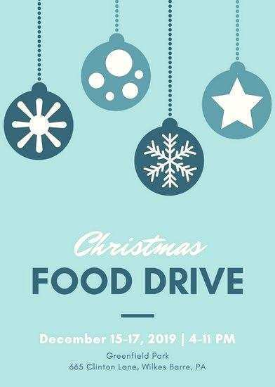 Free Food Drive Flyer Template from legaldbol.com