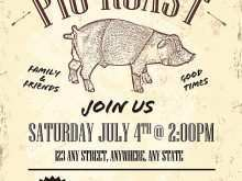 16 Customize Our Free Pig Roast Flyer Template Free for Ms Word for Pig Roast Flyer Template Free