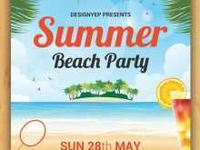 16 Format Beach Party Flyer Template Free Psd Layouts by Beach Party Flyer Template Free Psd