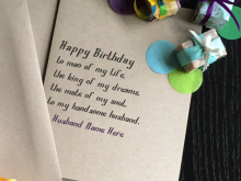 16 Format Birthday Card Template With Name Photo for Birthday Card Template With Name
