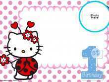 16 Format Hello Kitty Invitation Card Template Free in Word for Hello Kitty Invitation Card Template Free
