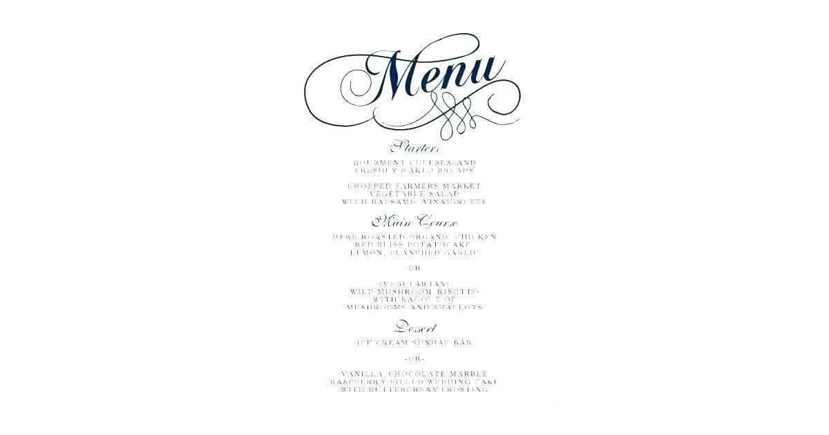 16 Format Menu Card Template In Word Maker by Menu Card Template In Word