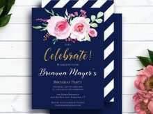 16 Free Printable Custom Birthday Card Template in Photoshop with Custom Birthday Card Template