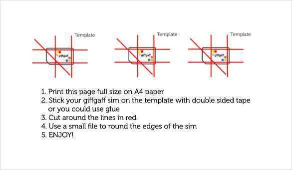 16 Free Printable Sim Card Cut Template Print Templates by Sim Card Cut Template Print