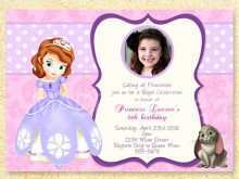 16 Free Sofia Birthday Card Template For Free by Sofia Birthday Card Template