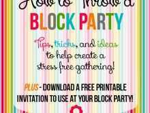 16 How To Create Block Party Template Flyer Layouts by Block Party Template Flyer