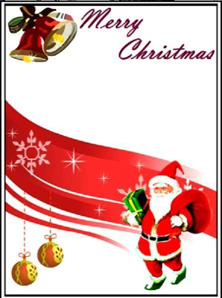 16 How To Create Christmas Card Templates To Print With Stunning Design with Christmas Card Templates To Print