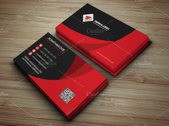 16 Online Business Card Template Red Formating by Business Card Template Red