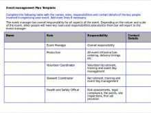 16 Online Event Agenda Planning Template Formating by Event Agenda Planning Template