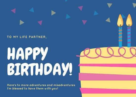 16 Printable Birthday Card Template For Boyfriend For Free for Birthday Card Template For Boyfriend