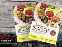 16 Printable Brunch Flyer Template in Photoshop by Brunch Flyer Template