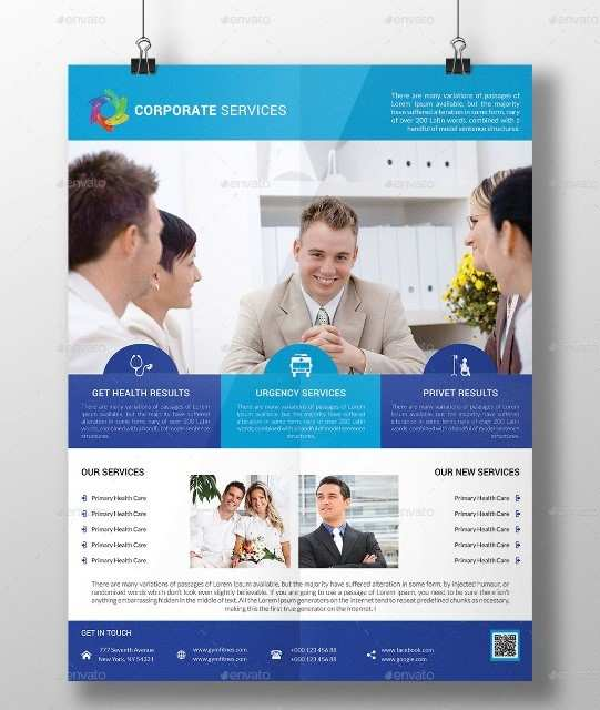 16 Printable Free Photoshop Business Flyer Templates Now By Free