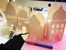 16 Printable Pop Up Eid Card Templates Templates by Pop Up Eid Card Templates