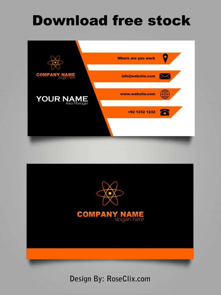 16 Standard Business Card Template Free Download Pdf Maker by Business Card Template Free Download Pdf
