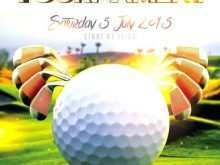 Golf Scramble Flyer Template Free