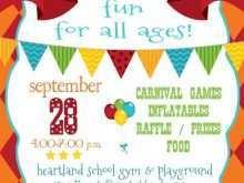 16 Standard School Carnival Flyer Template Formating for School Carnival Flyer Template