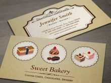 17 Adding Bakery Name Card Template Download by Bakery Name Card Template