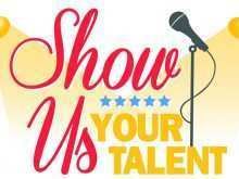 17 Blank School Talent Show Flyer Template Download for School Talent Show Flyer Template