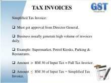 17 Blank Tax Invoice Format Gst Malaysia Templates with Tax Invoice Format Gst Malaysia