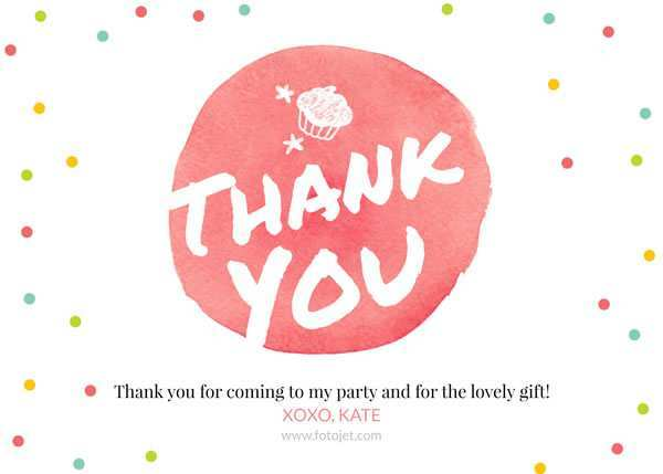17 Blank Thank You Card Template Images PSD File with Thank You Card Template Images