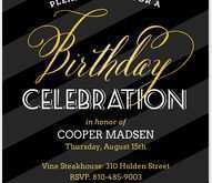 17 Customize Birthday Invitation Card Template For Adults With Stunning Design by Birthday Invitation Card Template For Adults