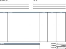 17 Customize Blank Invoice Format Pdf With Stunning Design for Blank Invoice Format Pdf