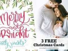 17 Customize Christmas Card Template Lightroom Maker with Christmas Card Template Lightroom