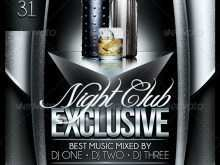 17 Customize Club Flyer Templates for Ms Word for Club Flyer Templates