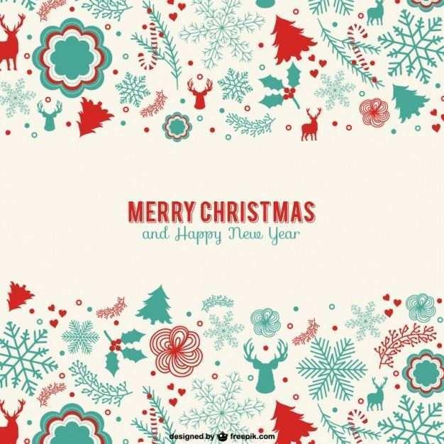 17 Format Christmas Card Templates Vector Download with Christmas Card Templates Vector