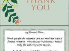 17 Format Thank You Card Templates For Funeral With Stunning Design with Thank You Card Templates For Funeral