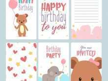 17 Free Birthday Card Template With Photo PSD File with Birthday Card Template With Photo
