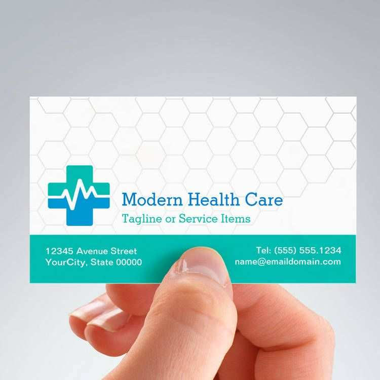 17 Free Business Card Template Healthcare for Ms Word with Business Card Template Healthcare