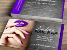 17 Free Business Card Template Nail Technician Photo by Business Card Template Nail Technician