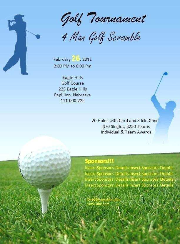 17 How To Create Golf Outing Flyer Template Maker For Golf Outing