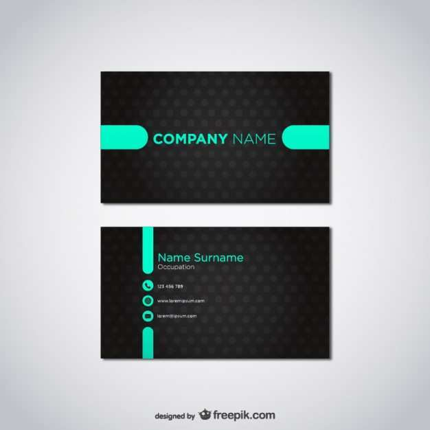 17 How To Create Name Card Template Vector Free Download With Stunning Design with Name Card Template Vector Free Download