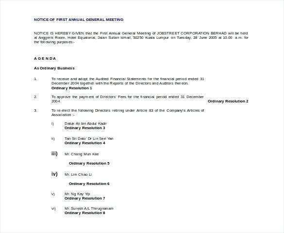 17 Online Agm Agenda Template Charity in Word with Agm Agenda Template Charity