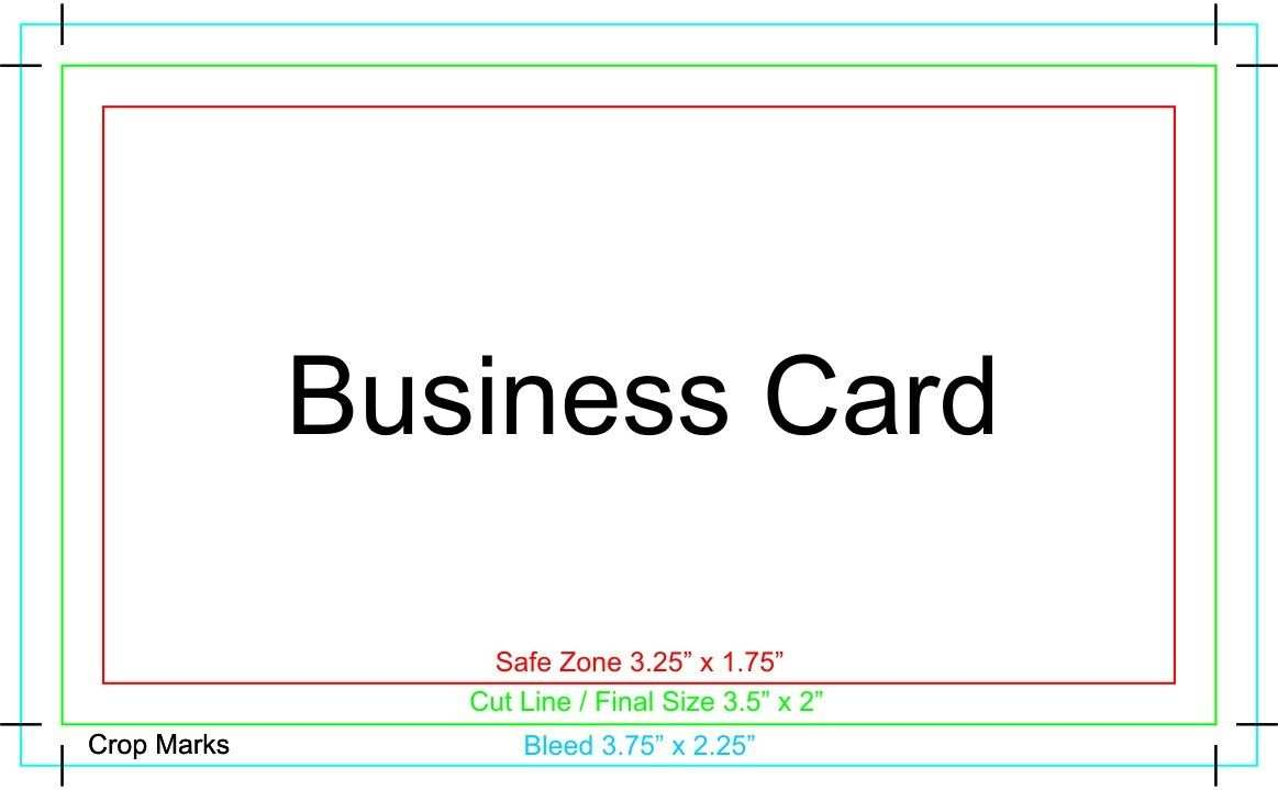 17 Printable Business Card Template Bleed in Word with Business Card Template Bleed