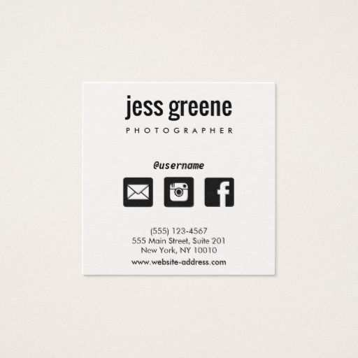 17 Printable Business Card Template With Social Media Icons Maker by Business Card Template With Social Media Icons
