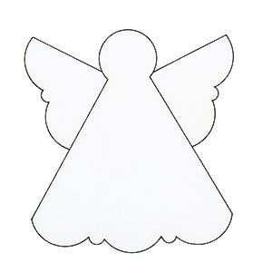 17 Printable Christmas Card Angel Template For Free by Christmas Card Angel Template