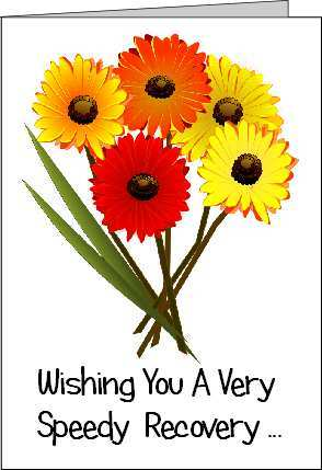 It's just a photo of Get Well Soon Printable within flower