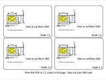 17 Printable Sim Card Cut Template Pdf PSD File with Sim Card Cut Template Pdf
