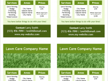 17 Report Mowing Flyer Template Layouts by Mowing Flyer Template