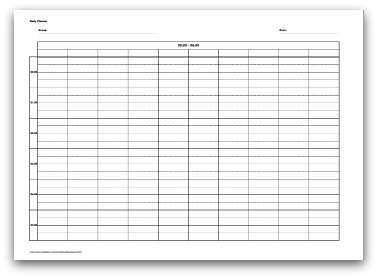 17 Standard 24 Hour Daily Agenda Template in Photoshop by 24 Hour Daily Agenda Template