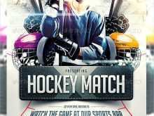 17 Standard Free Hockey Flyer Template With Stunning Design by Free Hockey Flyer Template