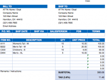 17 The Best Blank Tax Invoice Format In Excel Now with Blank Tax Invoice Format In Excel